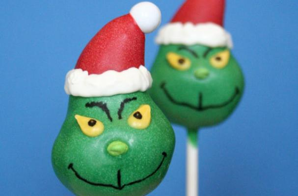Foodista Grinch Cake Pops Are A Seussical Sweet