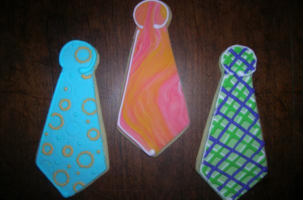 Necktie Cookies