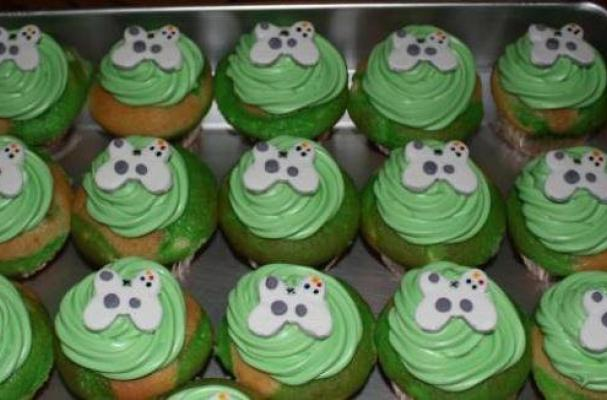 Xbox Cupcake Toppers