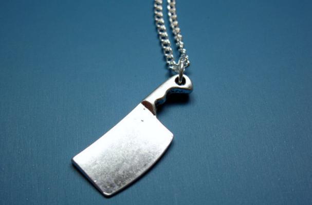 Butcher Knife Necklace