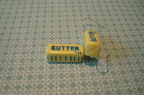 Stick of Butter Earrings
