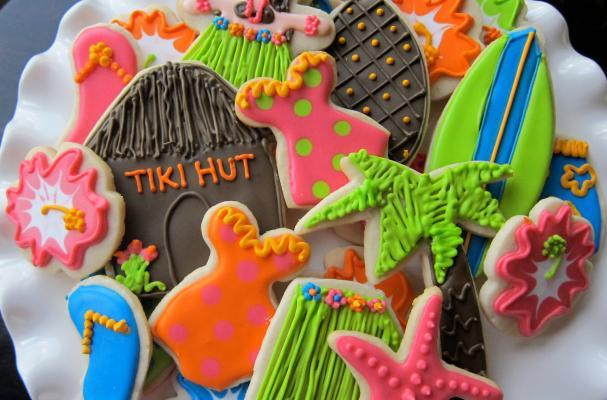 Foodista Hawaiian Luau Sugar Cookie Collection Will Have