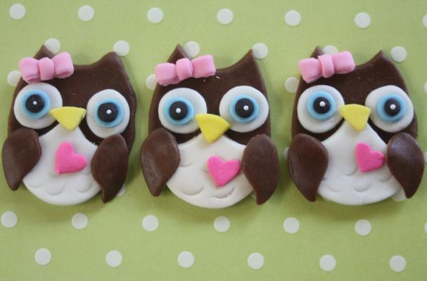 Hoot Owl Cake Template