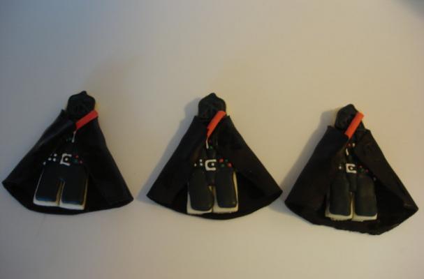 Darth Vader LEGO Cookies