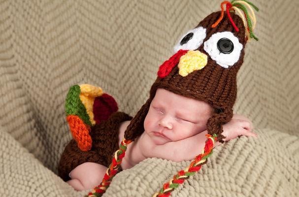 Thanksgiving Hat and Diaper Cover