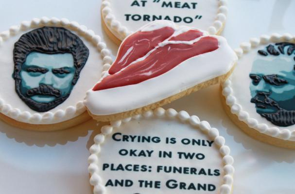 Ron Swanson Cookie Gift Box