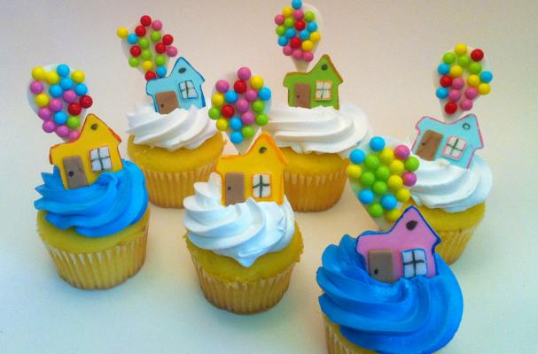 Up Cupcake Toppers