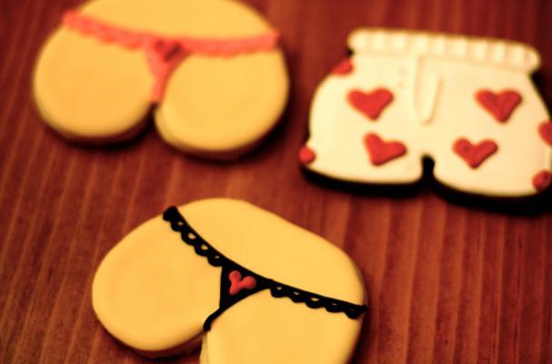 Underwear Sugar Cookies