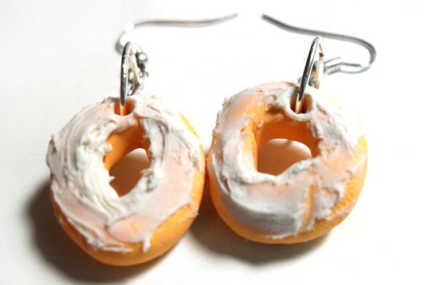 Frosted Doughnut Earrings