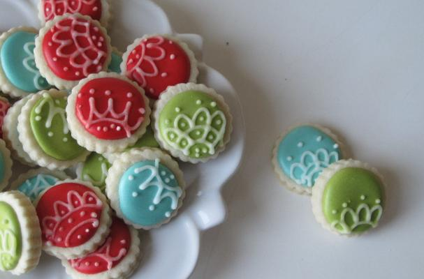 Ornament Sugar Cookies