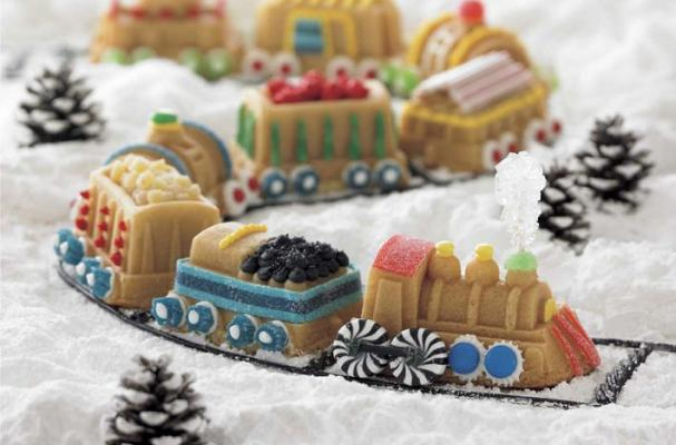 Winter Candy Train