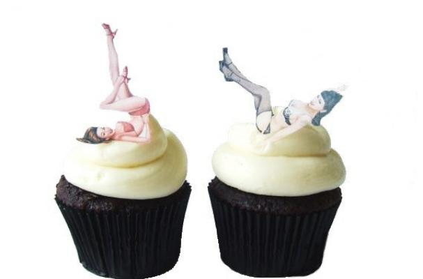 Pinup Cake Toppers