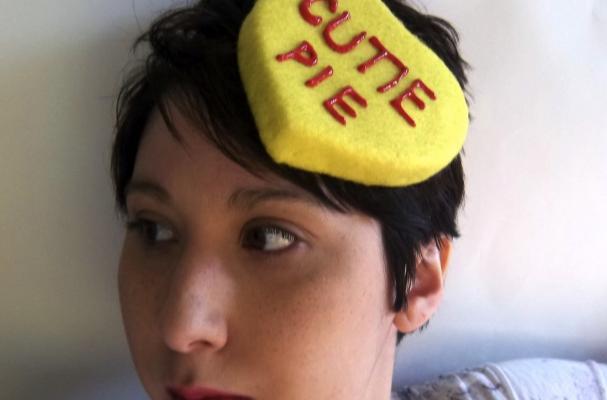 Conversation Heart Hats