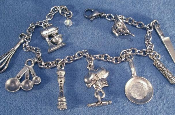 Love to Cook Charm Bracelet