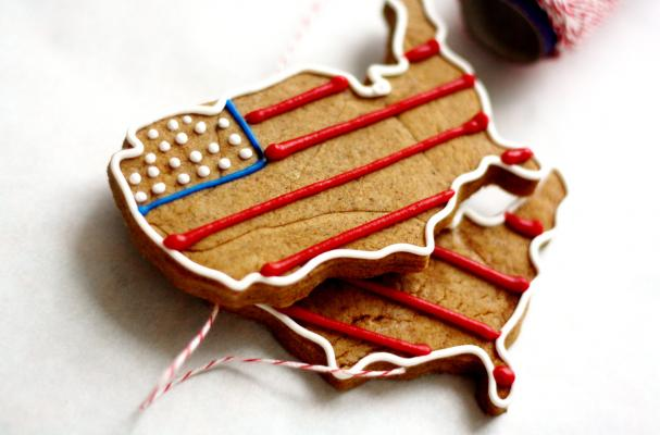 USA Gingerbread Cookies
