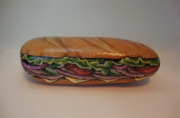 Submarine Sandwich Rock Art