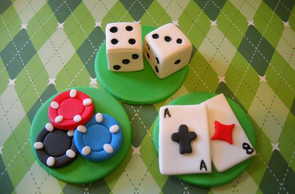 Casino Cupcake Toppers
