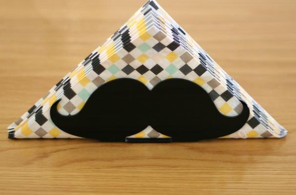 Mustache Napkin Holder