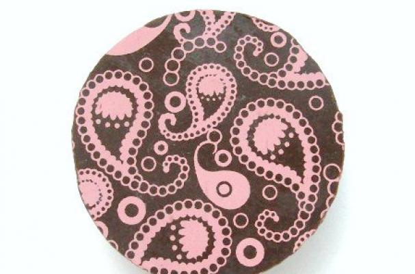 Paisley Chocolate Covered Oreos