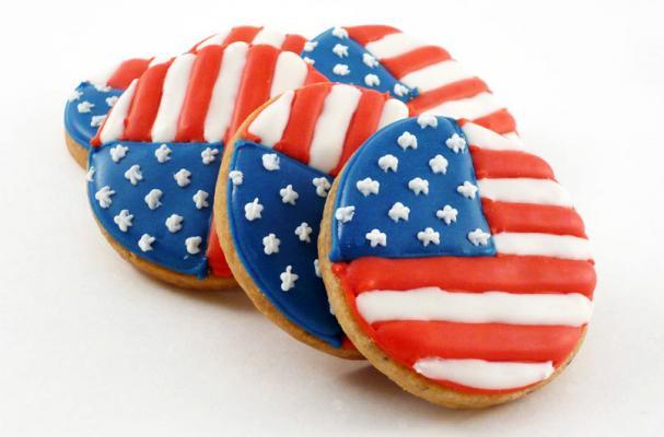 Memorial Day Flag Cookies