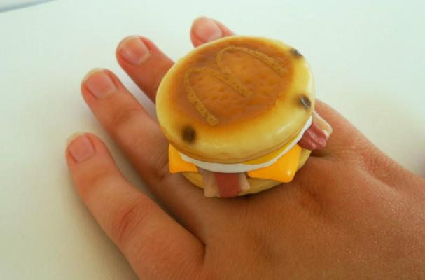 McDonald's Bacon McGriddle Ring