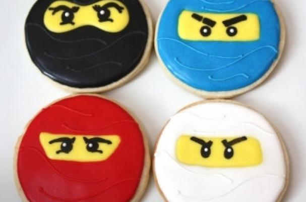 Foodista Lego Ninjago Cookies Are An Expressive Treat