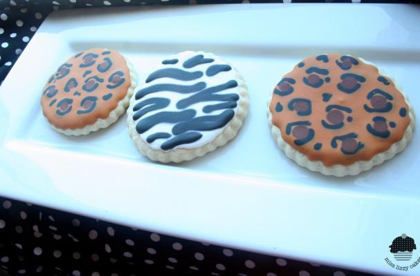 Animal Print Sugar Cookies