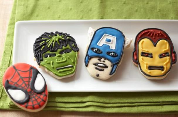 Marvel Hero Cookie Cutter Set