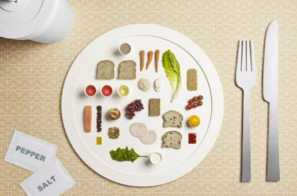 The Meals of Olympic Athletes Photo Series
