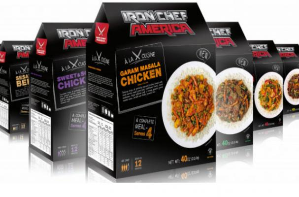 Iron Chef America Unveils Frozen Meal Kits