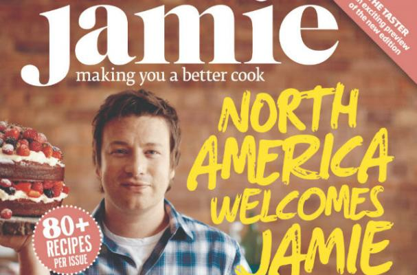 Jamie Oliver to Release American Version of Jamie Magazine