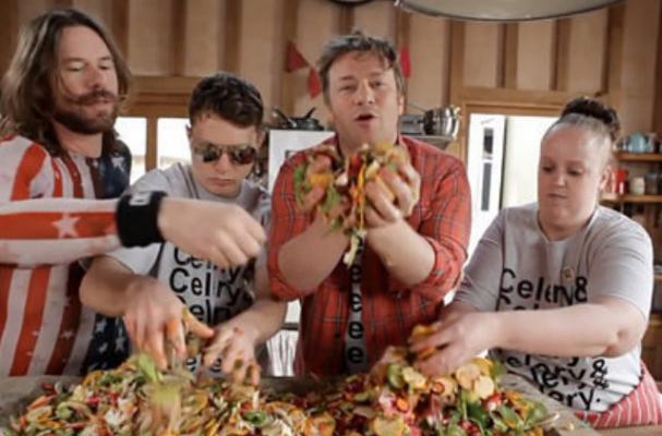 Jamie Oliver Parodies Epic Meal Time