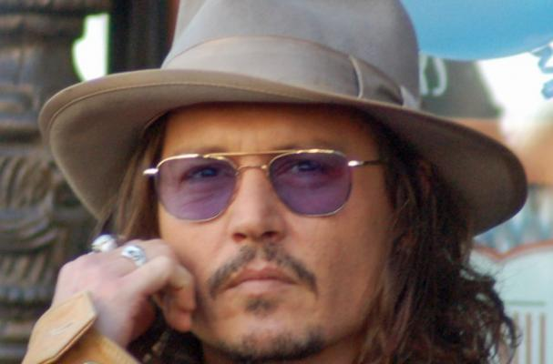Johnny Depp's no-drinking pact