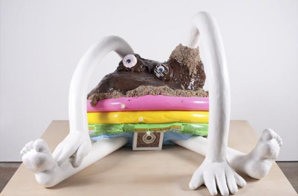 Josh Atlas' Donut and Frosting Sculptures and Drawings