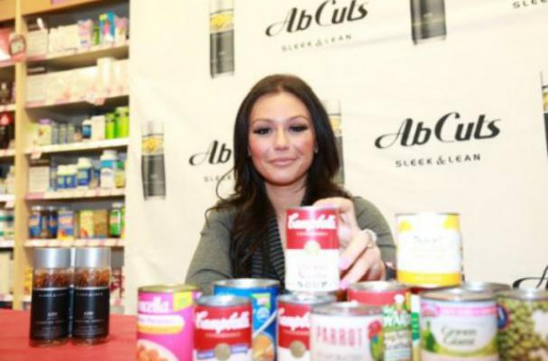 JWoww Hosts Food Drive for Sandy Victims