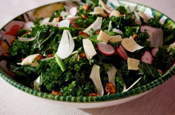Go Vegetarian: The White House Kale Salad Recipe