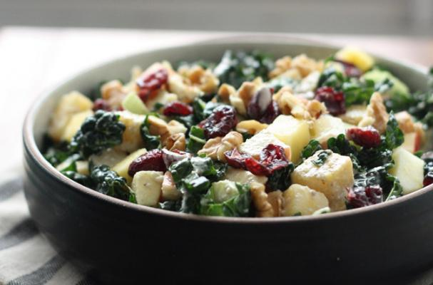 Meatless Monday: Sweet and Nutty Kale Salad