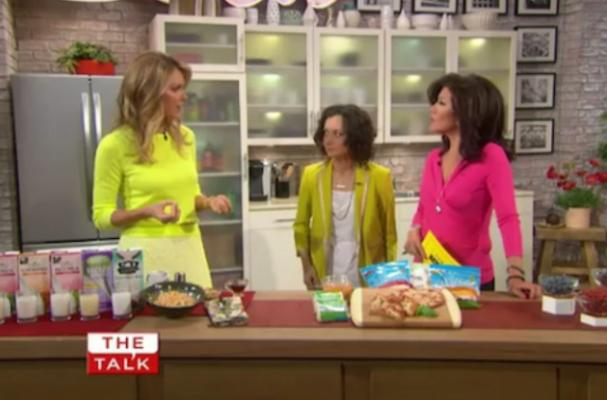 Kathy Freston Brings Vegan Tips to 'The Talk'