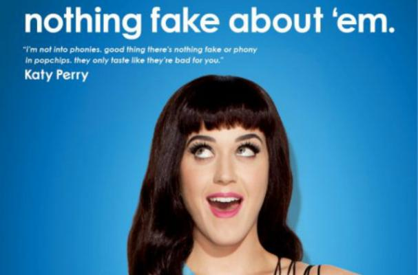 Katy Perry Popchips Ads Revealed