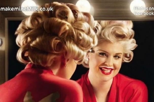 Kelly Osbourne Joins 'Make Mine Milk' Campaign