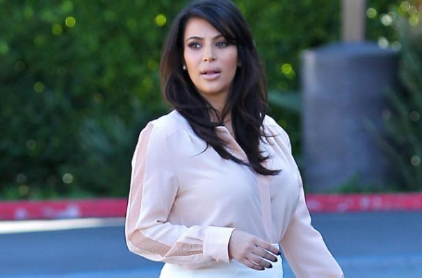 Kim Kardashian Sticks to Healthy Diet During Pregnancy