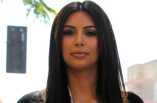 Kim Kardashian Gets Attacked with Baking Flour