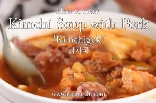 Weeknight Supper: Kimchi Soup