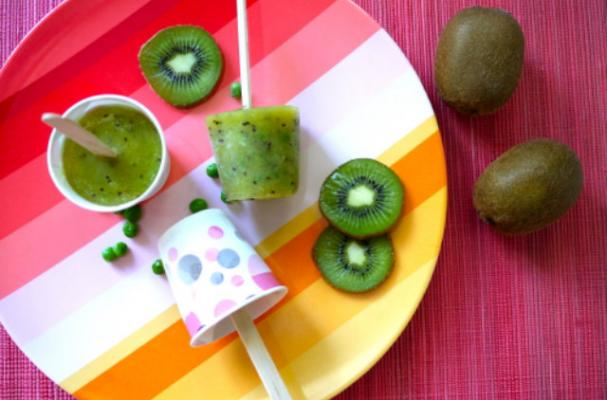 Foodista | Cooking With Kids: Pea Wee Kiwi Popscicles