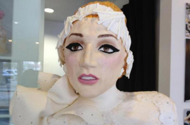This Life-Sized Lady Gaga Cake Celebrates Mother Monster