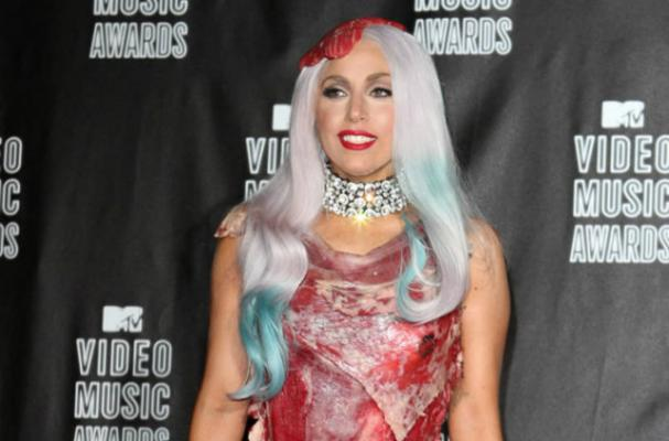 Lady Gaga's Meat Dress Gets the Museum Treatment