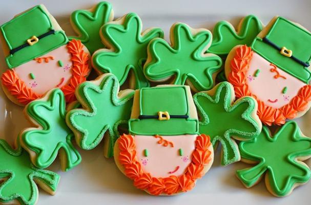 Foodista Lucky Leprechaun Cookies