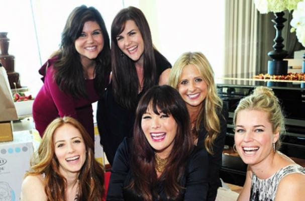 Lindsay Price's baby shower