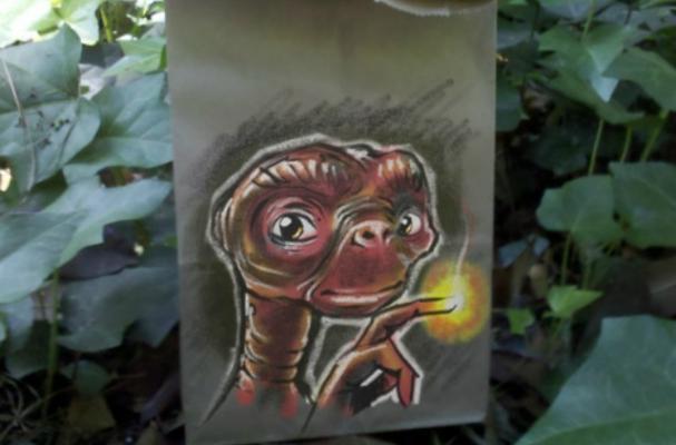 Lunch Bag Art Makes the Brown Bag Cool Again