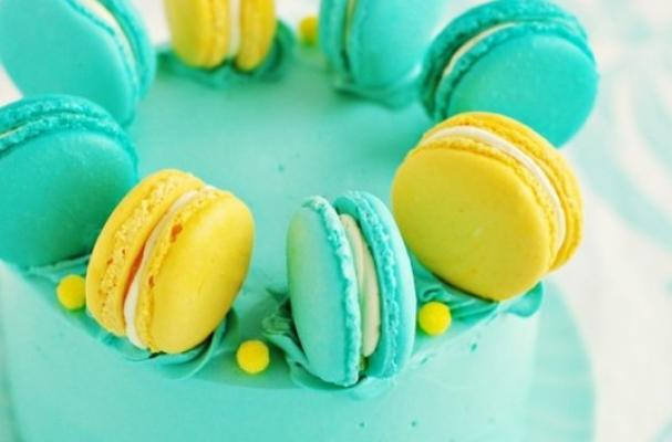Foodista | Beautiful Macaron Cake to Celebrate National ...
